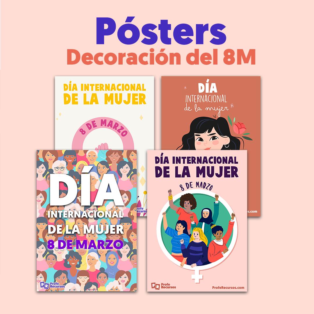 Posters dia de la mujer