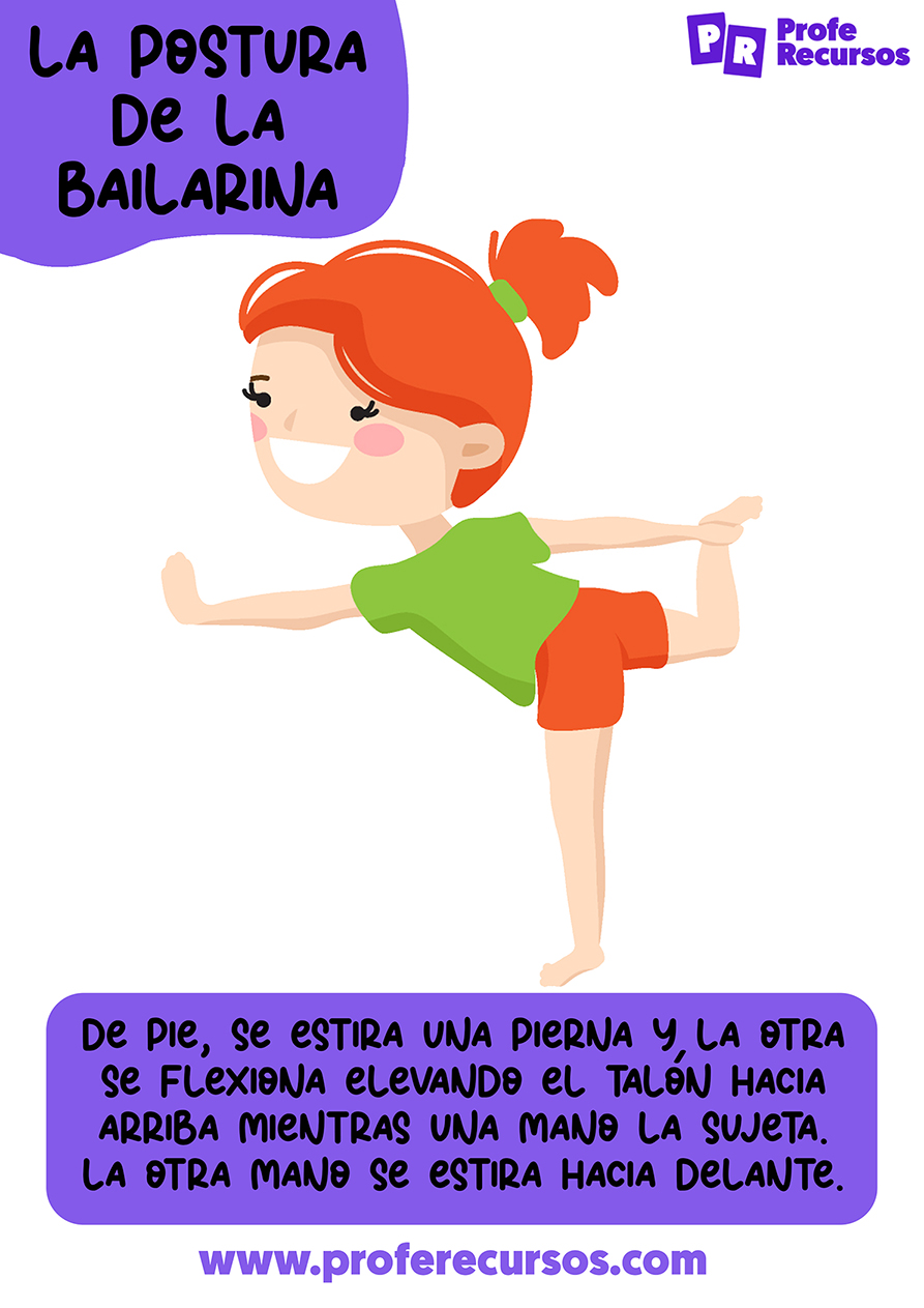 Posturas infantiles de yoga