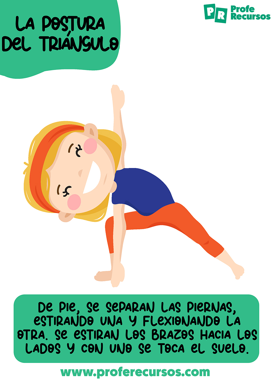 Practicar yoga con niños