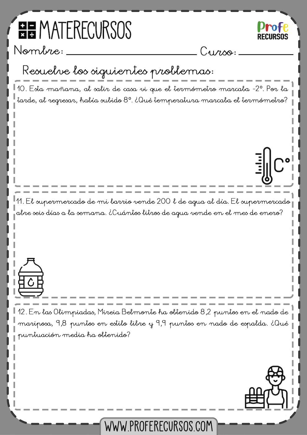 Problemas 5 primaria pdf