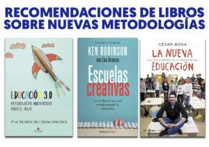 Recomendaciones de libros para profesores