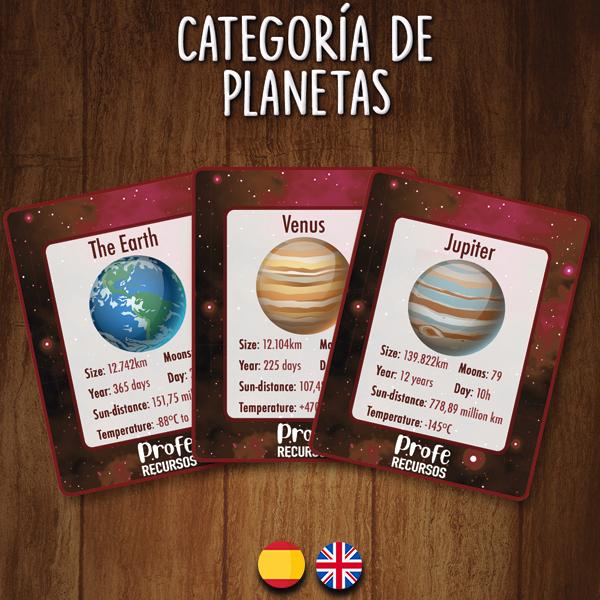 Recurso educativo sistema solar