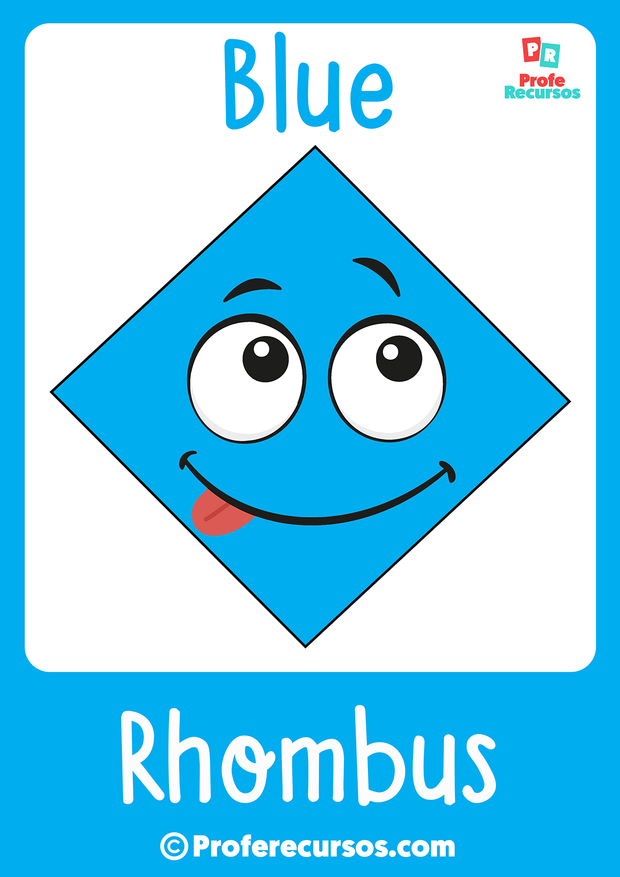 Rhombus for kids