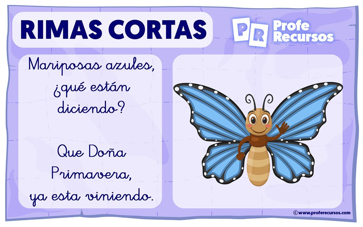 Rimas en español para niños