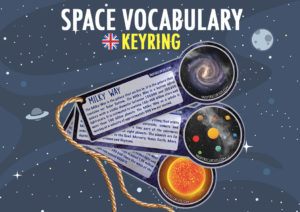 Space vocabulary for kids