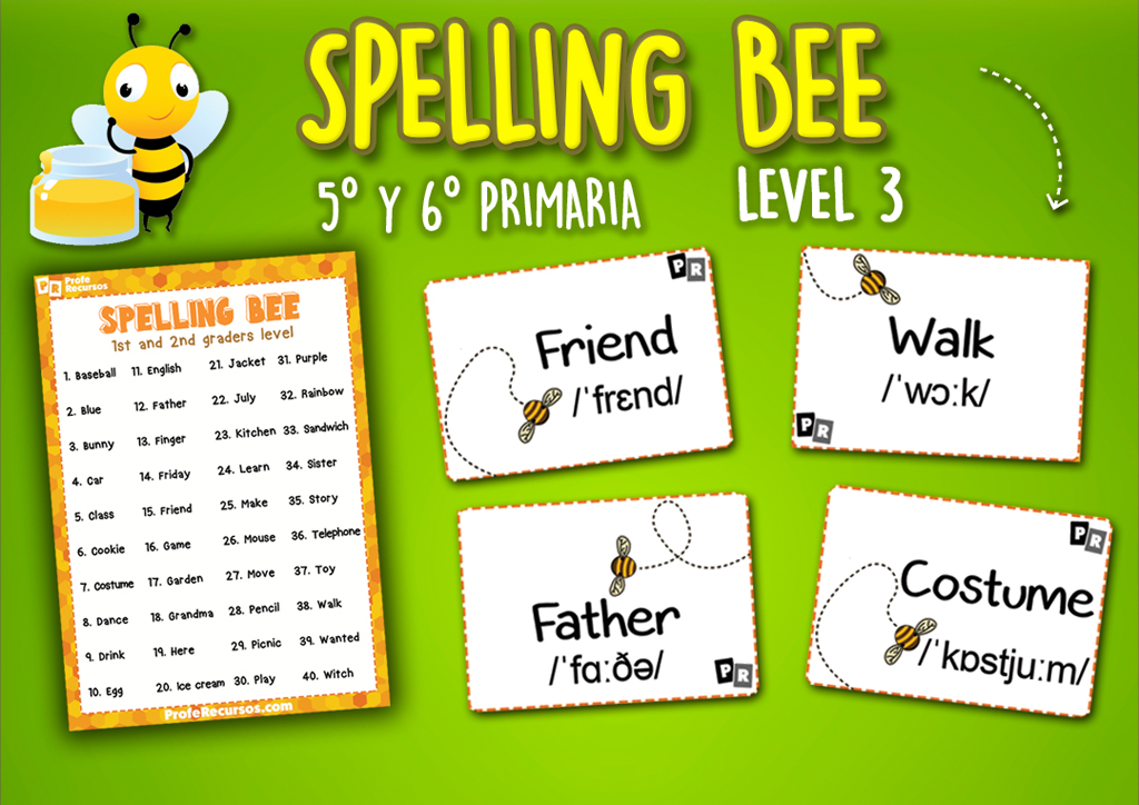 Spelling bee game