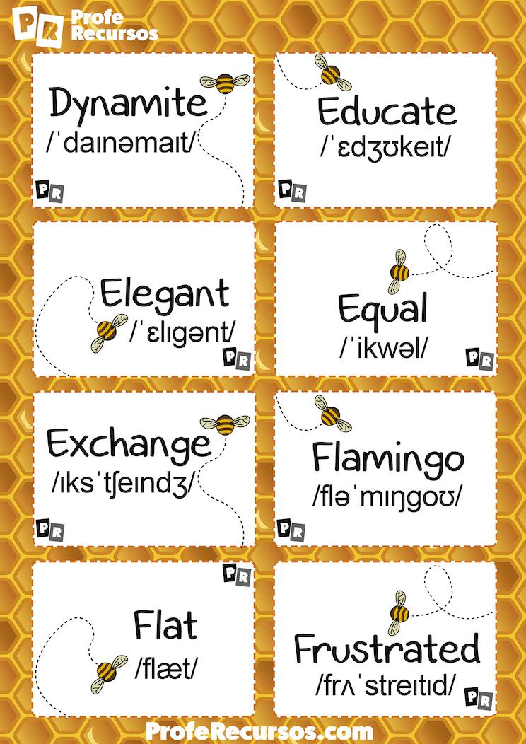 Spelling bee kids contest