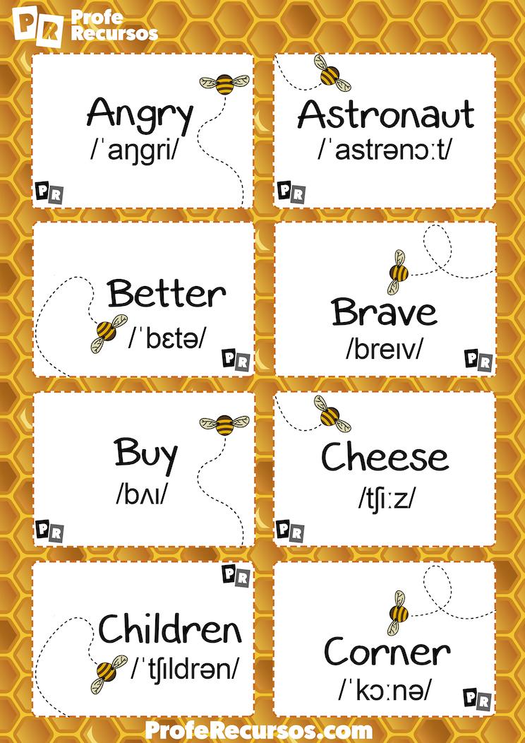 Spelling bee list