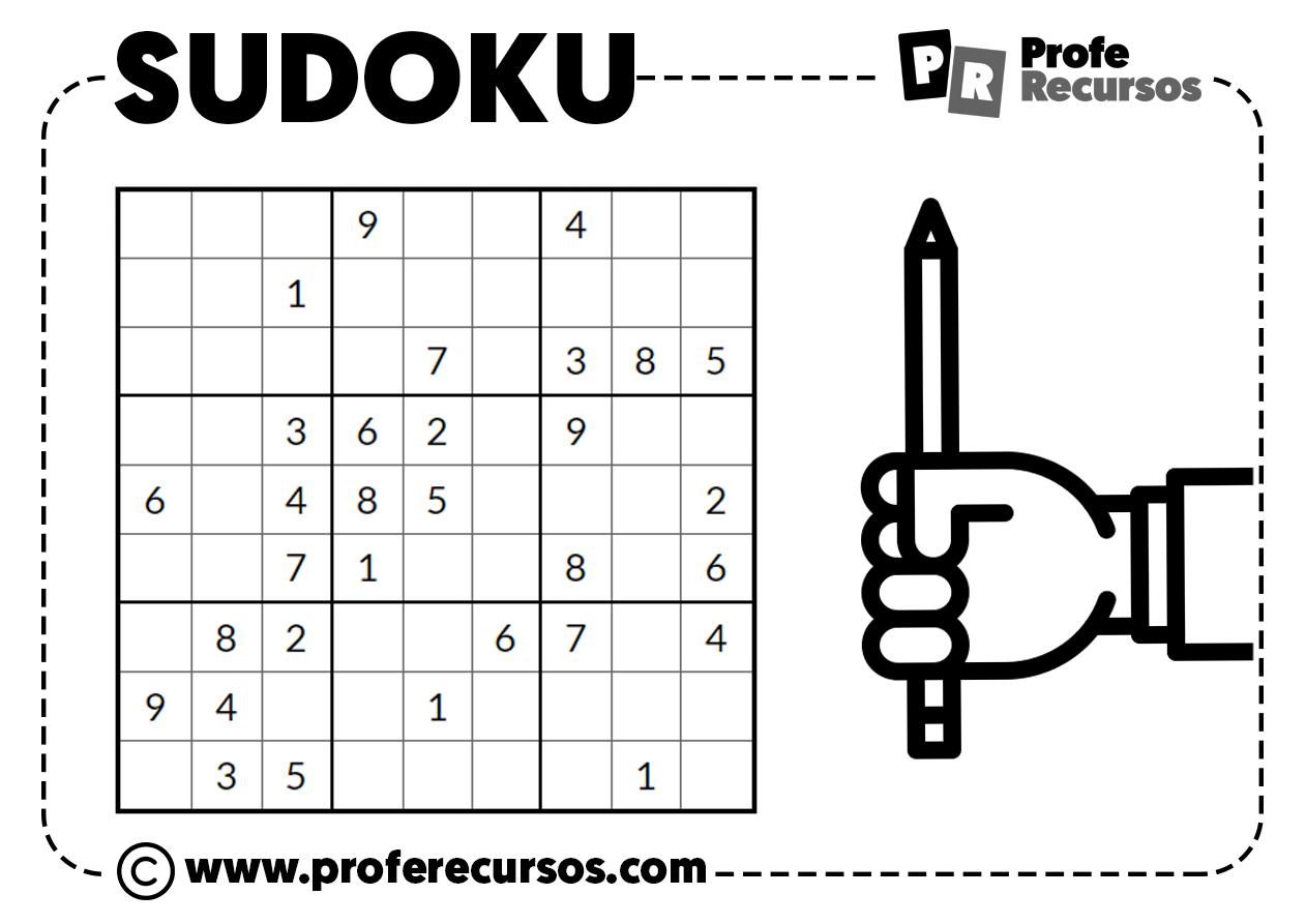 Sudoku como se juega