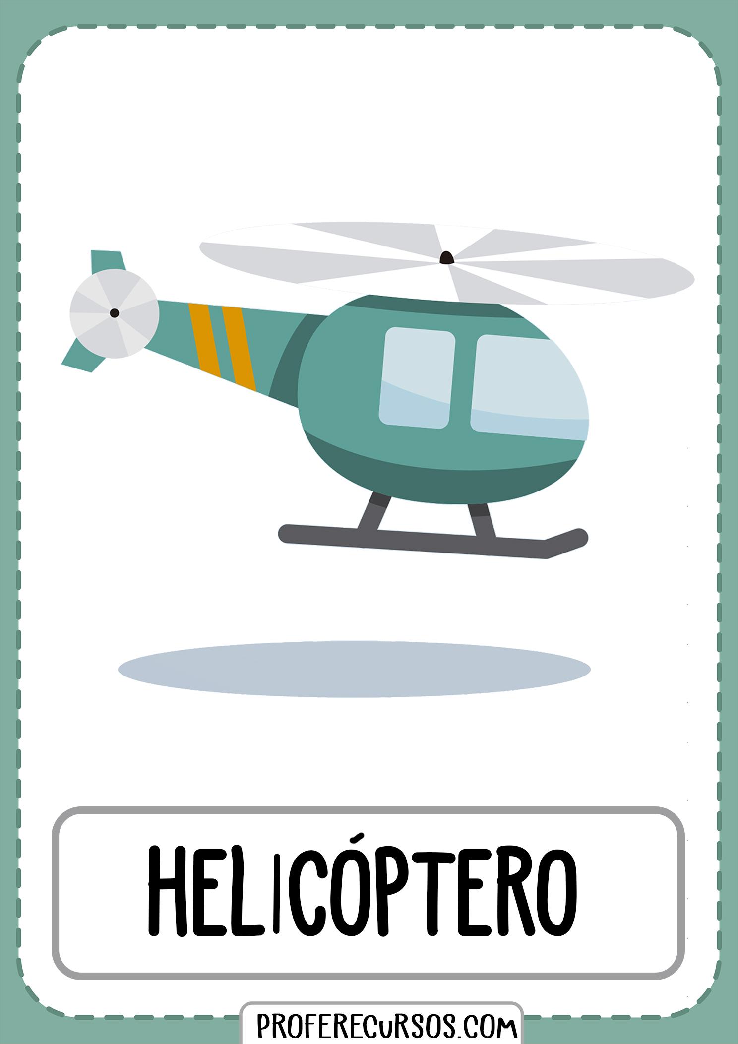 Tarjetas-vocabulario-medios-transporte-helicoptero