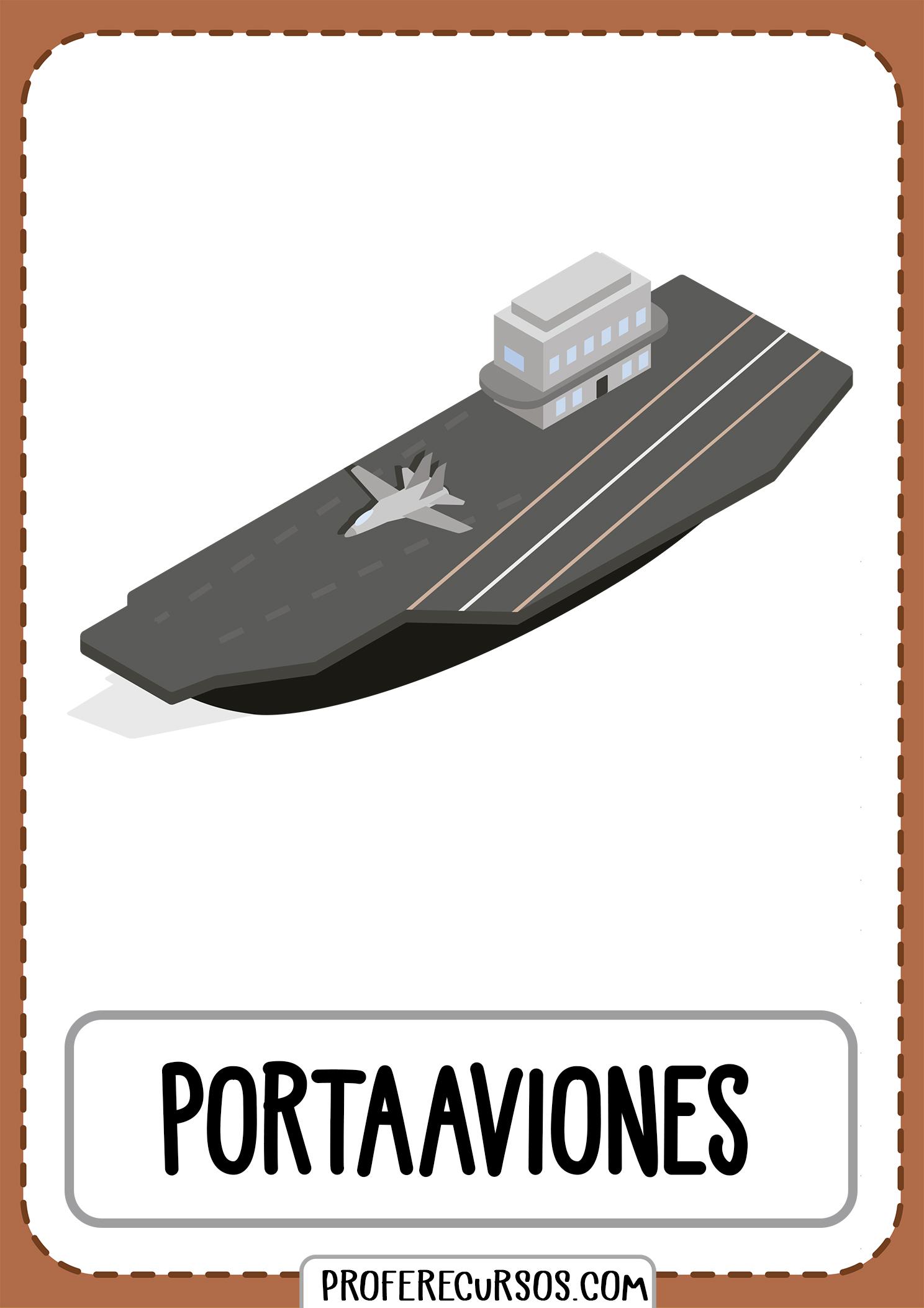 Tarjetas-vocabulario-medios-transporte-portaaviones