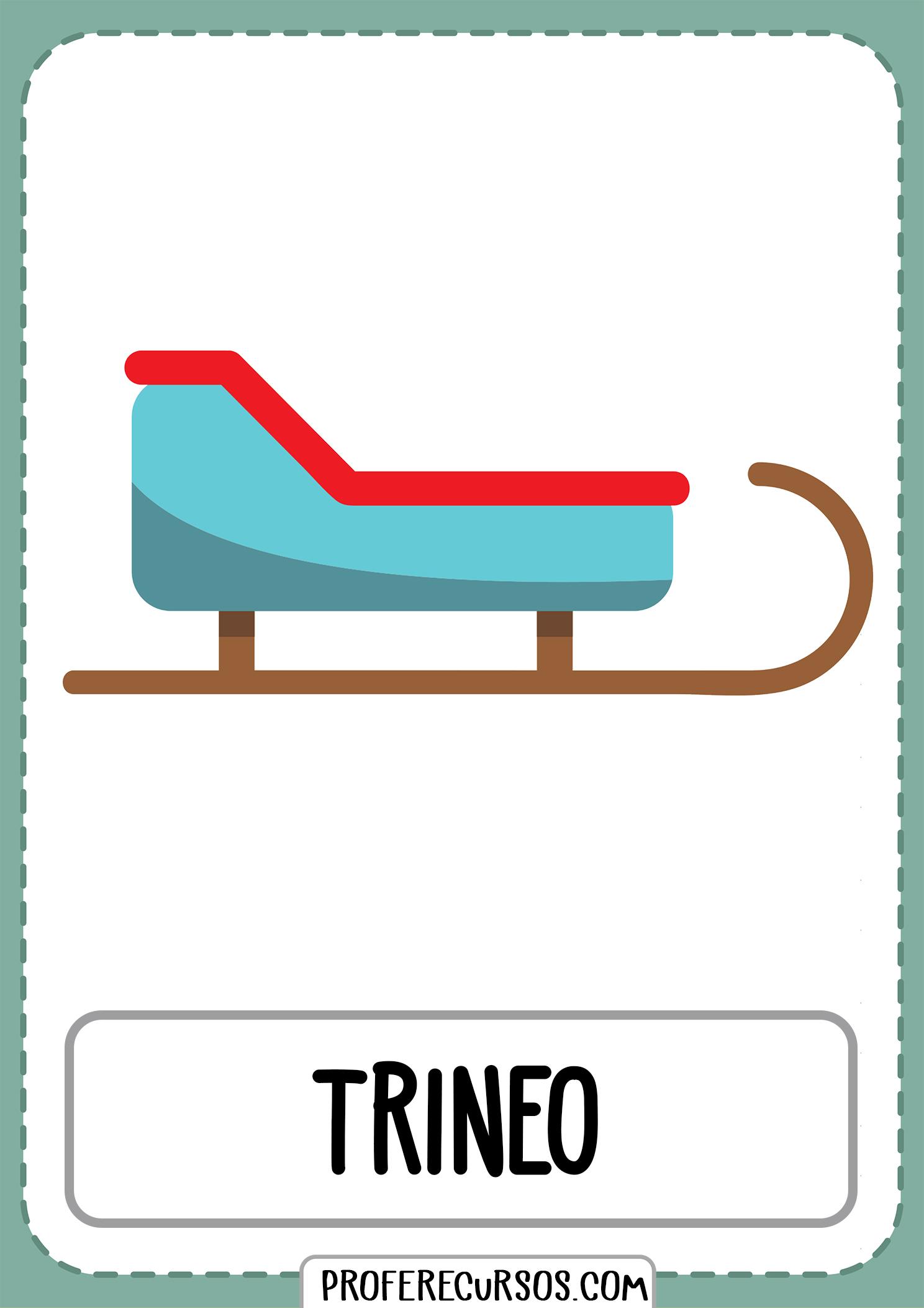 Tarjetas-vocabulario-medios-transporte-trineo
