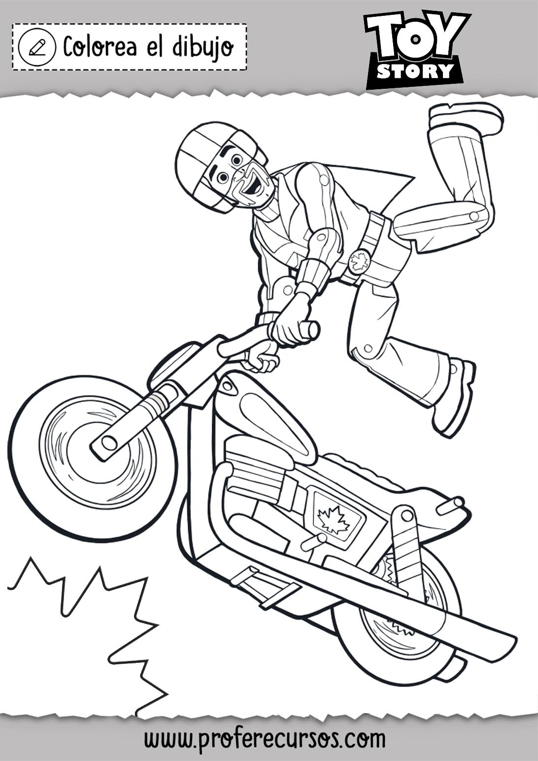 Toy Story 4 la pelicula dibujos para colorear - Profe Recursos