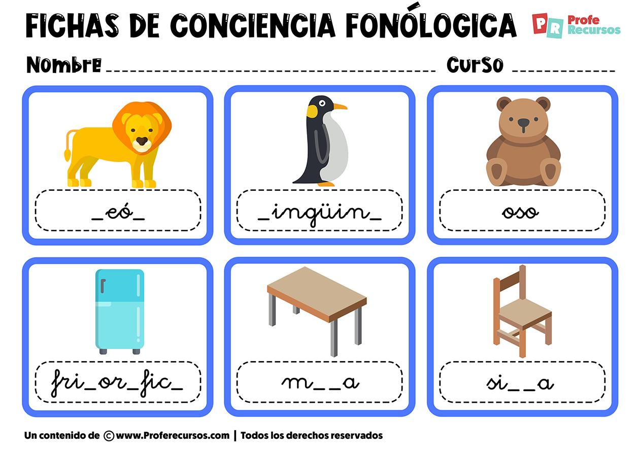 Trabajar la conciencia fonologica
