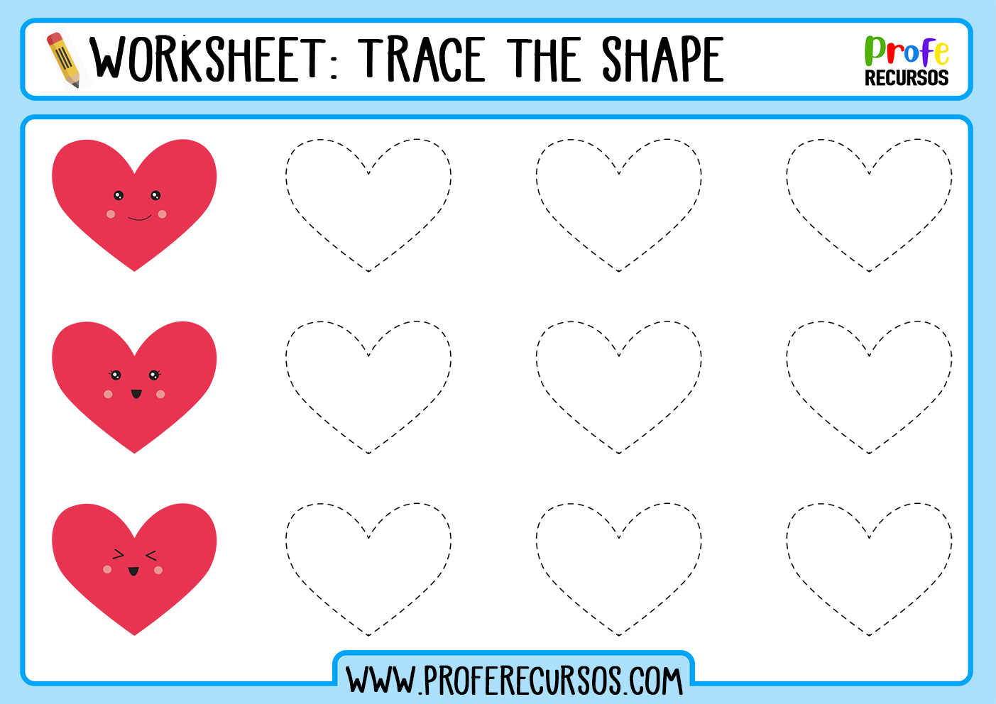 Tracing for preschool