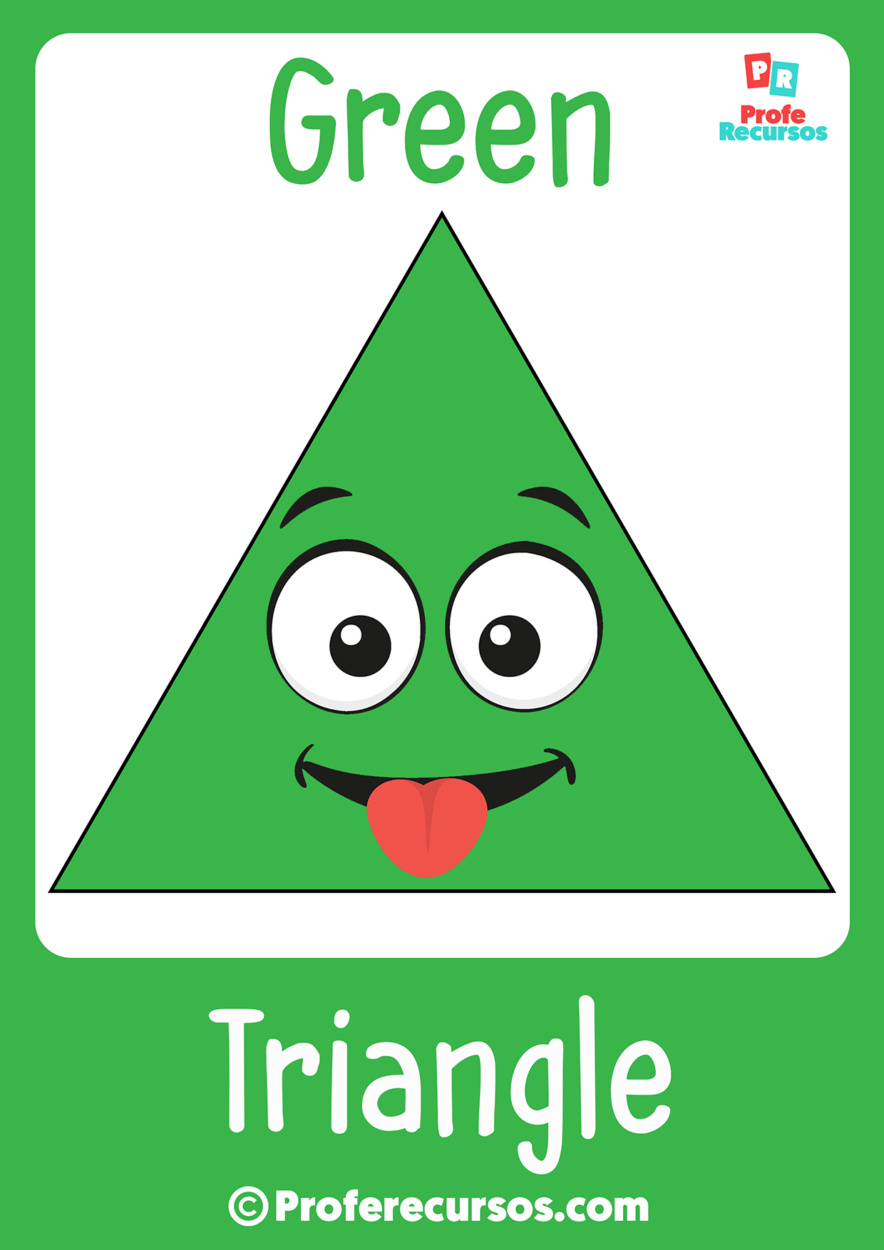 Triangle for kids