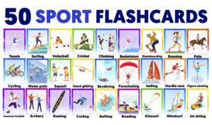 Vocabulario deportes en ingles