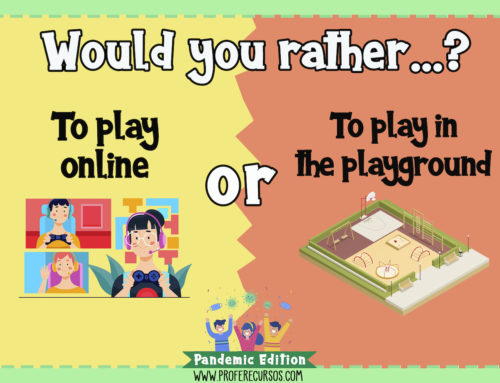 Juego de speaking: Would you rather? (Pandemic Edition)