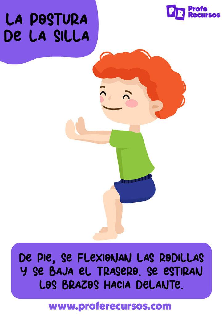 Yoga para niños de 3 años