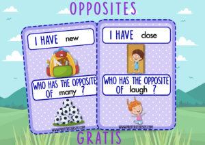 opposites cards pdf