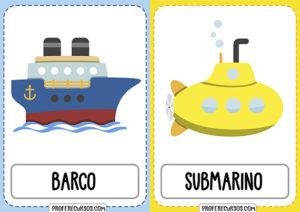 Vocabulario Medios de Transporte (ESP y ING)